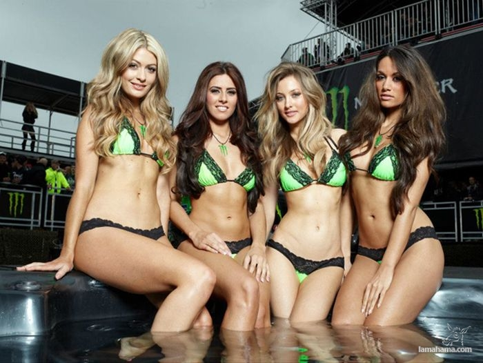 Something also Pictures of hot girls that sponsor monster energy quite