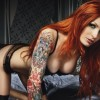 Beautiful girls with the red hair - Pictures nr 10