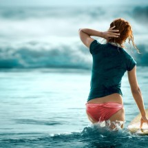 Beautiful girls surfing - Pictures nr 21