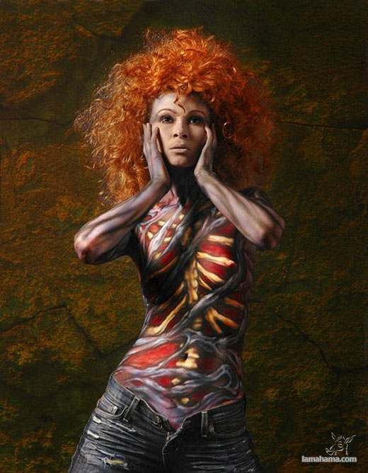 Bodypainting - Pictures nr 1