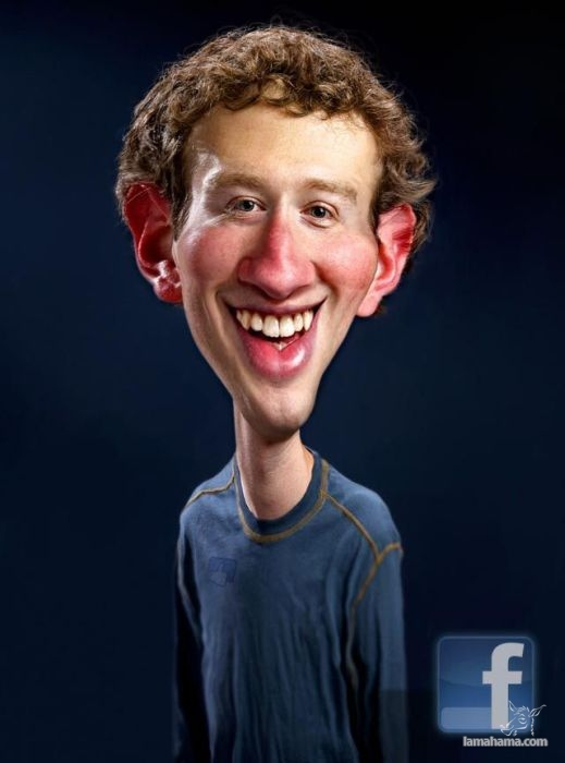 Realistic caricatures of celebrities - Pictures nr 1