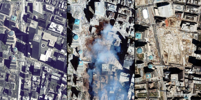 WTC Ground Zero: Before, during and 10 years later - Pictures nr 1