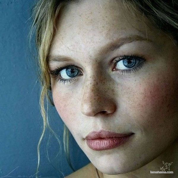 Girls with freckles - Pictures nr 1