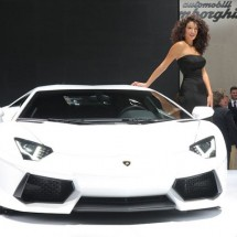 Cars and girls of Frankfurt Auto Show 2011