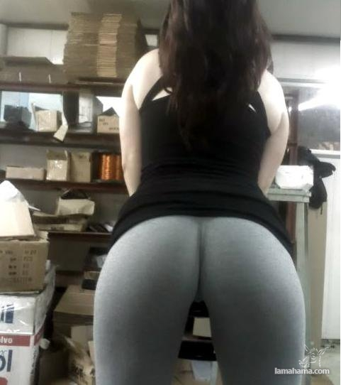 Hot girls in tight leggings II - Pictures nr 26