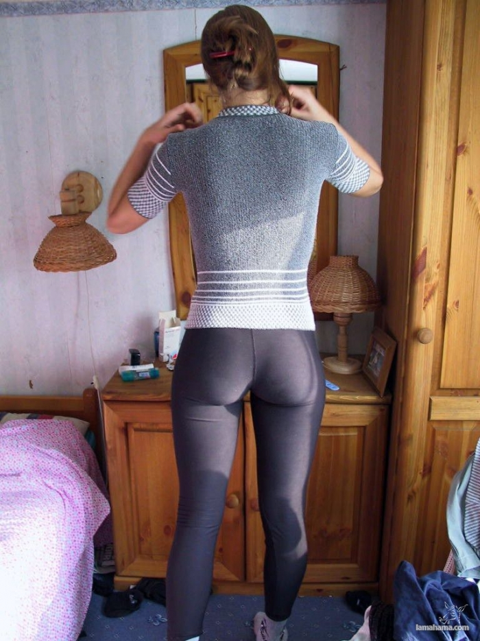 amateurs in leggings