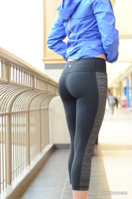 Hot girls in tight leggings II - Pictures nr 40