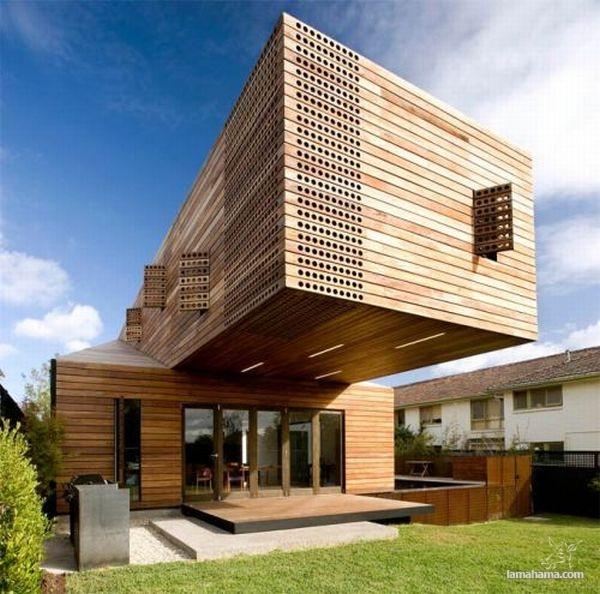 Modern houses of wood - Pictures nr 1