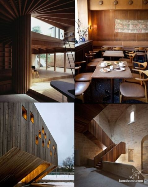 Modern houses of wood - Pictures nr 14