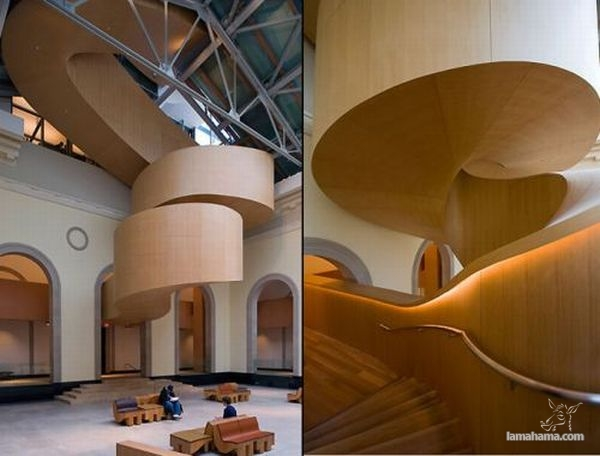 Modern houses of wood - Pictures nr 24