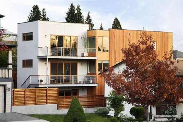 Modern houses of wood - Pictures nr 26