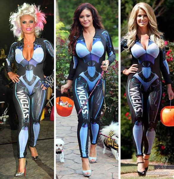 Celebrities in the same costume - Pictures nr 1