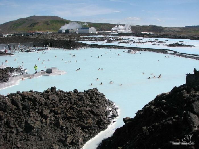 Geothermal Blue Lagoon in Iceland - Pictures nr 1