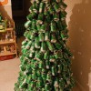 How to make a Christmas tree with beer cans? - Pictures nr 10