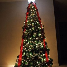 How to make a Christmas tree with beer cans? - Pictures nr 295