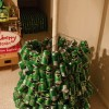 How to make a Christmas tree with beer cans? - Pictures nr 6