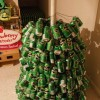 How to make a Christmas tree with beer cans? - Pictures nr 7