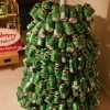 How to make a Christmas tree with beer cans? - Pictures nr 8