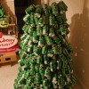 How to make a Christmas tree with beer cans? - Pictures nr 9