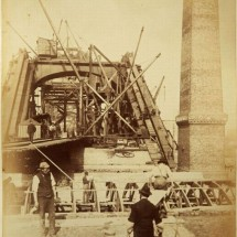 Old photos from the construction of London Tower Bridge - Pictures nr 2