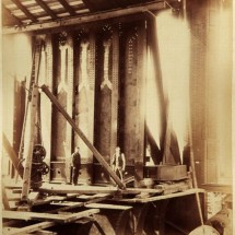 Old photos from the construction of London Tower Bridge - Pictures nr 4