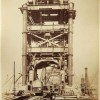 Old photos from the construction of London Tower Bridge - Pictures nr 7