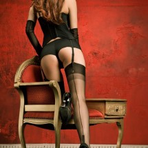 Attractive woman in stocckings - Pictures nr 2