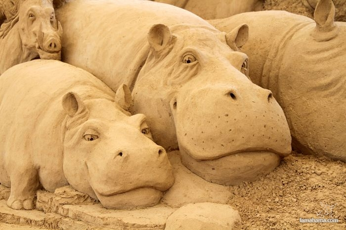 Amazing sand sculptures - Pictures nr 1