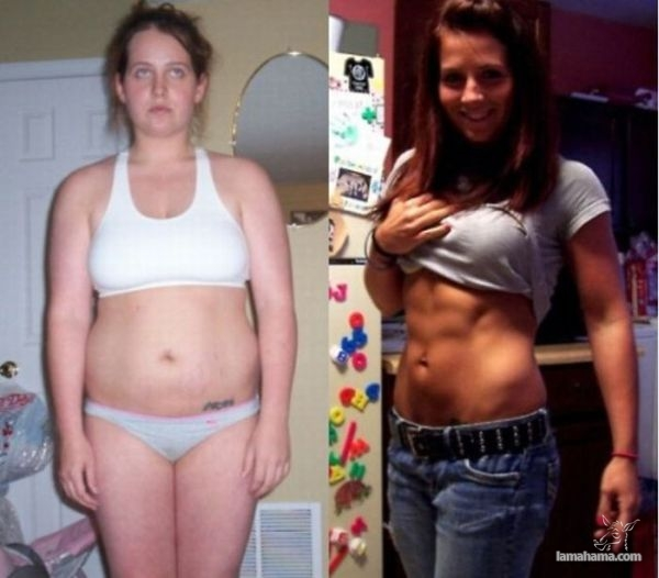 Girls from fat to fit - Pictures nr 1