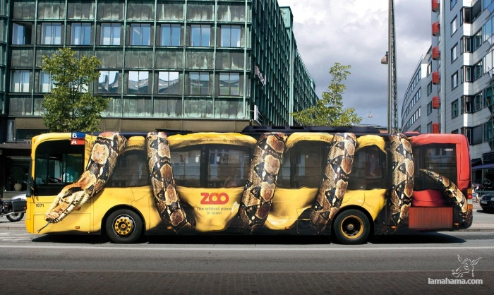 50 examples of creative advertising - Pictures nr 1