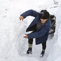 Wioska w Rumunii zasypana mega śniegiem - Zdjecie nr 2