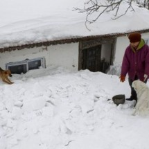 Village in Romania under the snow - Pictures nr 4