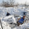 Wioska w Rumunii zasypana mega śniegiem - Zdjecie nr 8