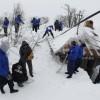 Wioska w Rumunii zasypana mega śniegiem - Zdjecie nr 9