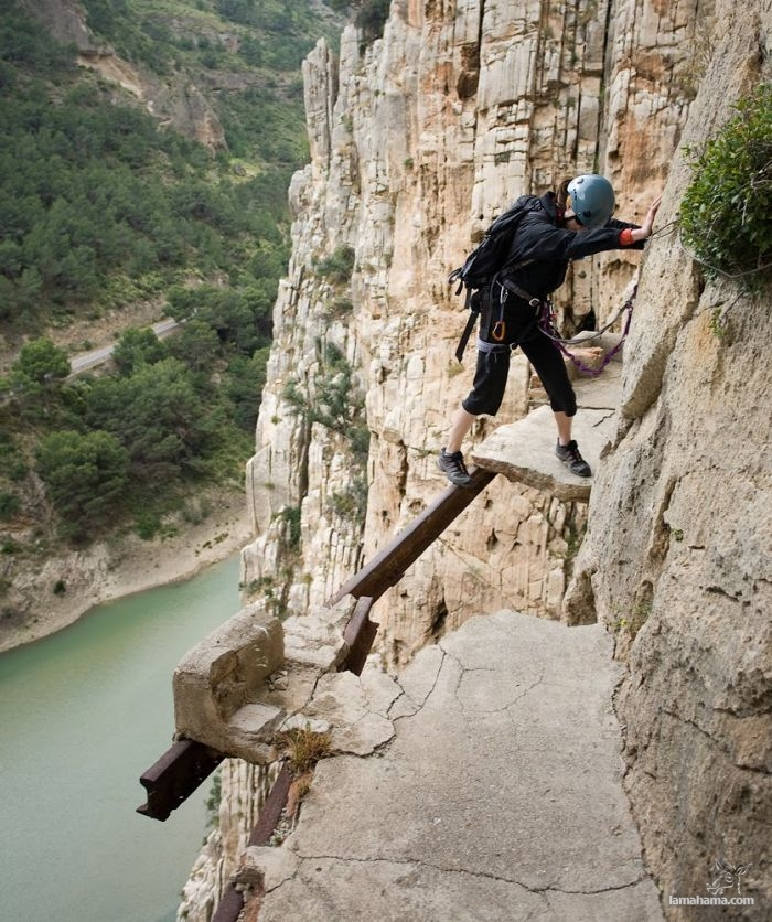 Caminito del Rey - Walk in the mountains - Pictures nr 1