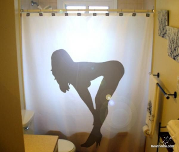 Creative curtains for bath - Pictures nr 1