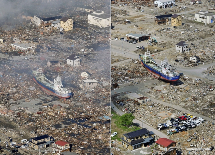 100 days after the earthquake in Japan - Pictures nr 1