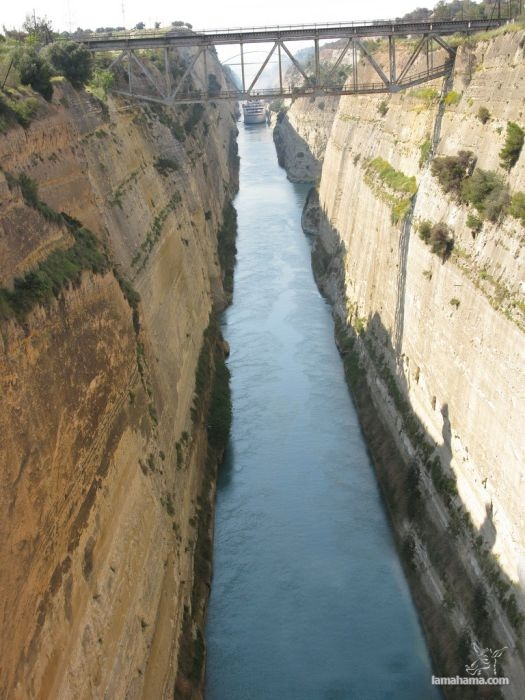 The Corinth Canal - Pictures nr 1