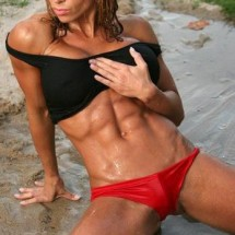 Muscular female bellies - Pictures nr 10