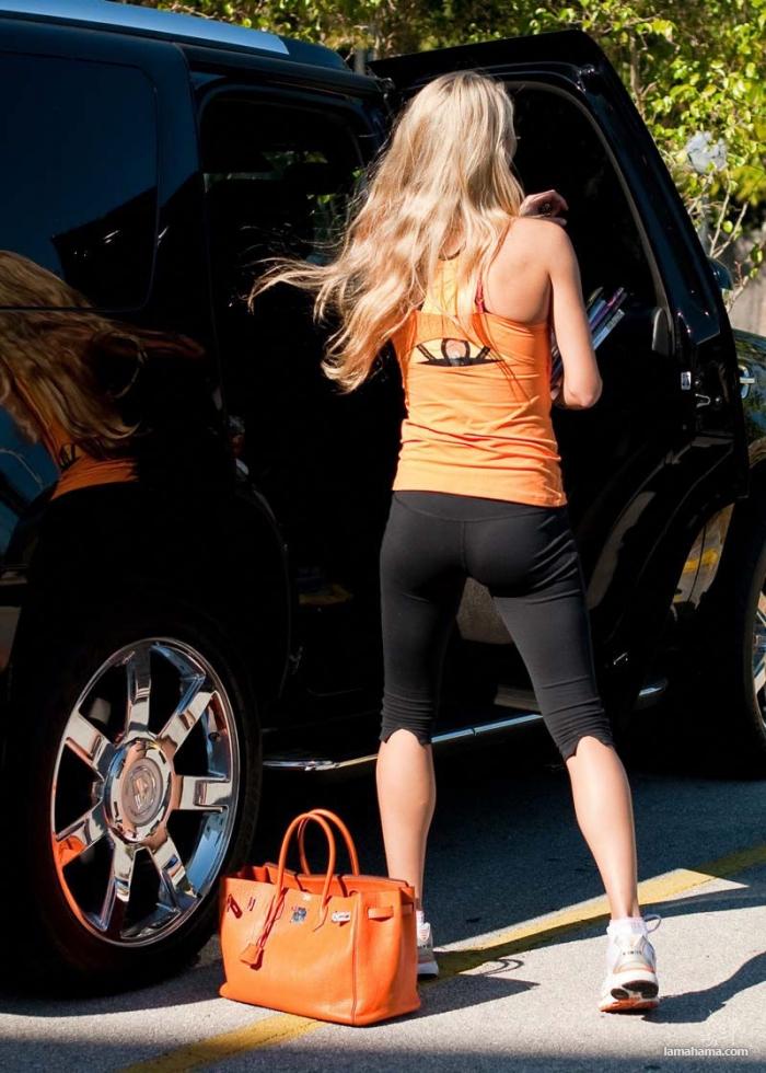 Celebrities in tight leggings - Pictures nr 1