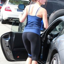 Celebrities in tight leggings - Pictures nr 36