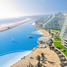 The biggest swiming Pool - San Alfonso del Mar Resort - Pictures nr 598