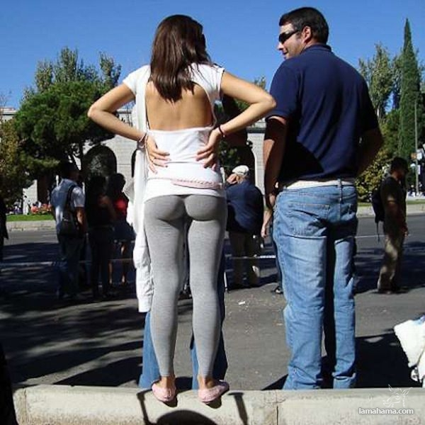 Hot girls in tight leggings - Pictures nr 10
