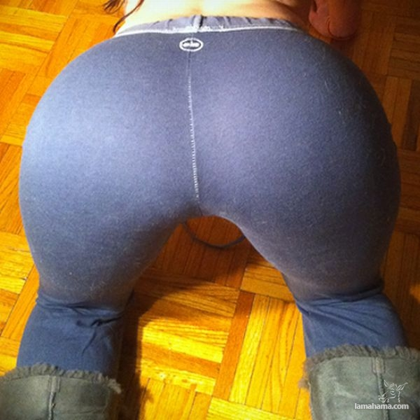 Hot girls in tight leggings - Pictures nr 51