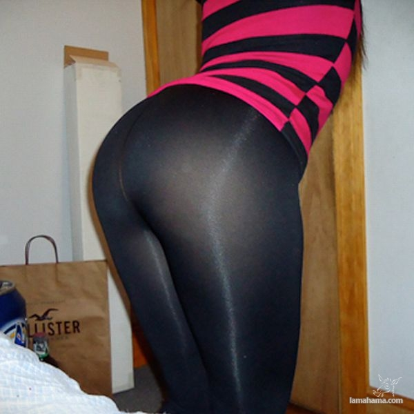 Hot girls in tight leggings - Pictures nr 8