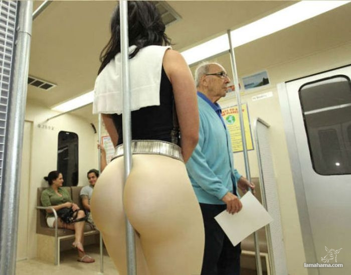Large, round, woman butts - Pictures nr 1