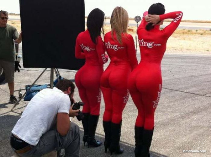 Large, round, woman butts - Pictures nr 10