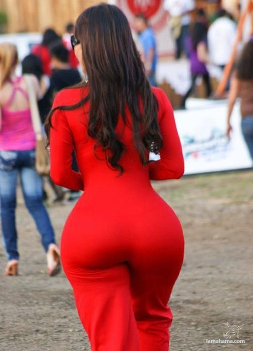 Large, round, woman butts - Pictures nr 13
