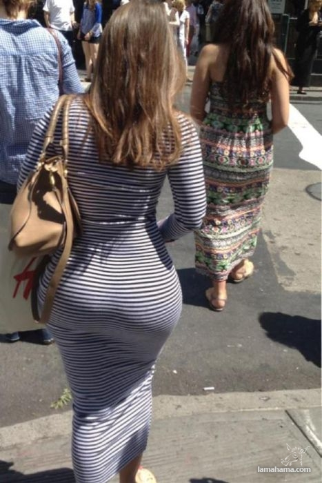 Large, round, woman butts - Pictures nr 14