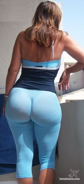 Large, round, woman butts - Pictures nr 21